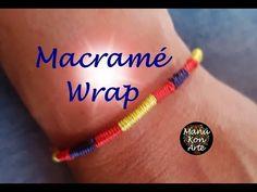 DIY Tutorial Macrame Pulsera Roja de la Suerte - YouTube Hippie Bracelets, Beaded Bracelets, Micro Macrame, Diy Tutorial, Friendship Bracelets, Diy And Crafts, My Style, Youtube, Pandora