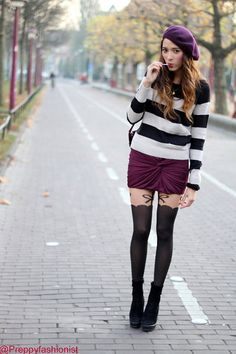 love...but would do with tights instead