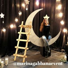 фотозона ночное небо star dust photobooth photo backdrop