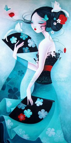 Sybile Art Portfolio : Peinture