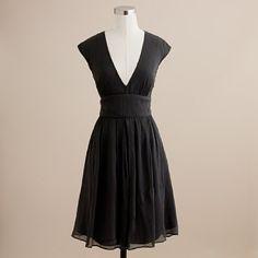 silk chiffon abigail dress