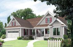 Home Plan The Blakely by Donald A. Gardner Architects