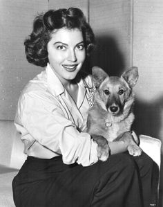 "Corgi-loving Ava was called ""The World's Most Beautiful Animal"" in the 50's for a studio publicity stunt..."