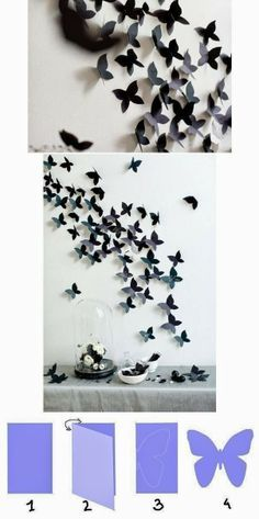 DIY Tutorials: DIY Home Decor Tutorials- this would be beautiful for a little girl's room someday!