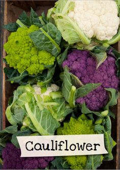 Want to learn more about cauliflower? Sign up for Jamie Oliver's Kitchen Garden Project at http://www.jamieskitchengarden.org/!