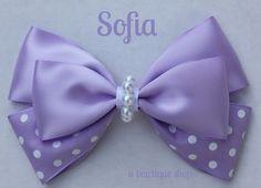 sofia hair bow by abowtiqueshop on Etsy, $6.50