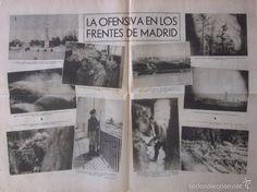 Coleccionismo de Revistas y Periódicos: LA VANGUARDIA - AÑO 1936 - GUERRA CIVIL - LA OFENSIVA REPUBLICANA EN LOS FRENTES DE MADRID - Foto 2 - 56931875