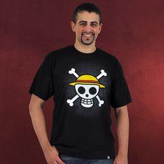 Was ist das typische Zeichen dafür, dass Piraten im Anmarsch sind? Richtig! Ein weißer Totenschädel auf einer schwarzen Flagge. Und was unterscheidet herkömmliche Piraten von ganz besonderen? Wieder richtig! Der Strohhut. Denn nur dann...