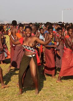 swaziland - umhlanga or reed dance