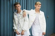 Pop singers Marcus & Martinus pose for a portrait session before honouring Crown Princess Victoria on the ocassion of her birthday at Victoriagarden on July 2017 in Borgholm, Sweden. Get premium, high resolution news photos at Getty Images Instagram 2017, Creative Video, Princess Victoria, Pop Singers, Stock Pictures, Portrait, Image Now, Image Collection, Royalty Free Photos