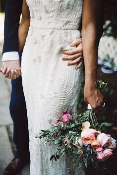 Glamorous Maryland Garden Wedding