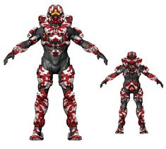 Hazop Armor Forest Skin from Halo 4