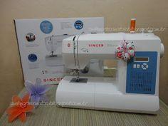 Cantinho da Suh: A mais nova integrante da casa....minha primeira máquina de costura!!! Singer brilliance 6160.