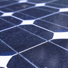 """Solar Cell Captures High-Energy Photons Efficiently: """"new, inexpensive material that has the potential to capture and convert solar energy—particularly from the bluer part of the spectrum—much more efficiently than ever before."""""""
