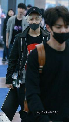160506 #Minho #Taemin #Shinee #2min - Incheon Airport to Canada