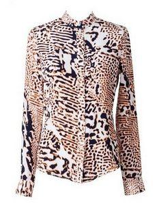 YB J'AIME Tiger Silk manstyle shirt