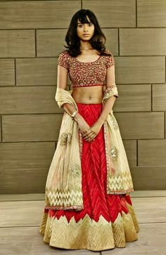 Lehenga Indian bride wear