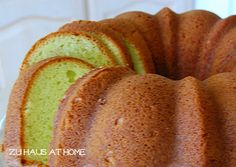 Pistachio Bundt Cake via Zu Haus at Home blog - Bundt Cake 2