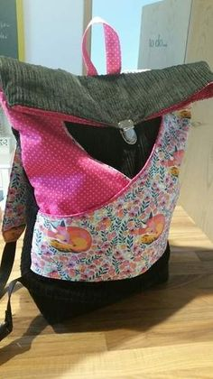 Makerist - Rucksack aus Cord - 1
