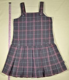 920 Ft.    Ruha - szürke, rózsaszín kockás (Pumpkin Patch) Lany, Apron, Fashion, Moda, La Mode, Fasion, Fashion Models, Trendy Fashion, Aprons