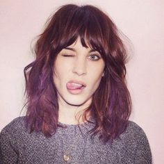 There's a part of me that really wants to dye my hair purple
