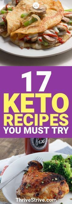 I'm always looking for more delicious keto recipes and these are 17 new ones that I'll have to try and make. I love the ketogenic diet! #Keto #KetoRecipes #KetogenicDiet paleo diet meals
