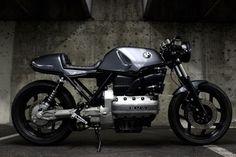 bmw k100 cafe racer - Google zoeken Moto Cafe, Cafe Bike, Cafe Racer Bikes, Cafe Racers, Bobber Custom, Custom Bmw, Custom Bikes, Motos Bmw, Bike Bmw