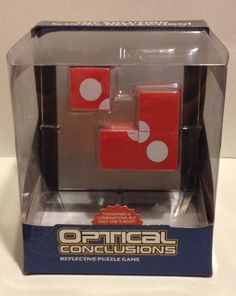Mind Game Puzzle Optical Conclusions Reflective Cube Challenge Brain Logic