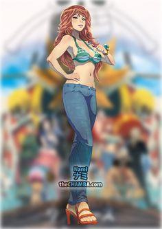 I'm a Thief who only steals treasure from Pirates/Nami/One piece Anime One Piece, One Piece Nami, One Piece Fanart, Akuma No Mi, Nami Swan, Luffy X Nami, One Piece Drawing, The Pirate King, 0ne Piece