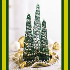 LeisureArts has wide range of festive mantels crochet thread patterns. Create an counter piece or festive mantel grouping with your very own miniature evergreen forest. Crochet Thread Patterns, Crochet Thread Size 10, Crochet Hooks, Evergreen Forest, Cotton Thread, Cactus Plants, Miniatures, Festive, Holiday