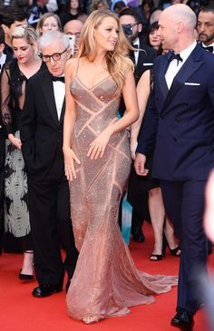 The Best Looks From The 2016 Cannes Film Festival | Blake Lively in Atelier Versace| Love her outfit...