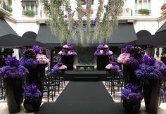 Jeff Leatham is one of the most celebrated and renowned floral & event designers worldwide. Experience Jeff Leatham and gain instruction at the 2017 Fleur International Master Conference Paris Wedding, Mod Wedding, Purple Wedding, Wedding Flowers, Tangled Wedding, Galaxy Wedding, Luxury Wedding, Summer Wedding, Wedding Colors