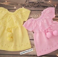Baby Knitting Patterns, Hand Knitting, Little Girl Dresses, Girls Dresses, Baby Bloomers Pattern, Crochet Shoes Pattern, Knitted Baby Clothes, Baby Dress, Knit Dress