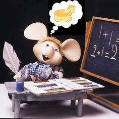 Felice ritorno a scuola - happily back to school - feliz de volver a la escuela Danbo, Miss Piggy, Cute Mouse, Minnie Mouse, Old Shows, Old Cartoons, Photo Magnets, Italian Artist, Old Tv