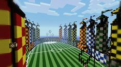 From The Burrow, to Hogsmeade, to Hogwarts itself, Minecraft players have created plenty of awe-inspiring Harry Potter worlds. Lego Minecraft, Lego Moc, Hogwarts Minecraft, Harry Potter Minecraft, Casa Medieval Minecraft, Amazing Minecraft, Minecraft Blueprints, Minecraft Crafts, Minecraft Ideas