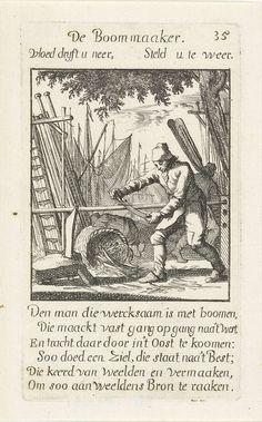 Boommaker, Caspar Luyken, Jan Luyken, Jan Luyken, 1694