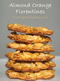 Almond Orange Florentines Recipe