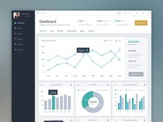 Dashboard - data charts