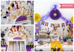"""Photo 14 of 20: Rapunzel - Enredados / Birthday """"Rapunzel - Enredados para la princesa Jaz en Plaza Niceto...."""""""