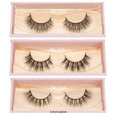 {Pretty Little Things} These versatile day to evening mink lashes are available in a variety of rich textures and beautiful lengths. #LoveLotusLashes   #lotuslashes325 #lotuslashes410 #lotuslashes114