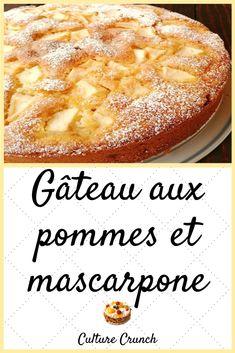 dessert recipes easy no bake Apple Recipes Easy, Easy No Bake Desserts, Desserts For A Crowd, Fancy Desserts, Köstliche Desserts, Delicious Desserts, Recipe Using Apples, Mascarpone Recipes, Mascarpone Cake