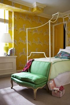 amazing color story- mustard- light emerald and mauve- stunning- ART KR