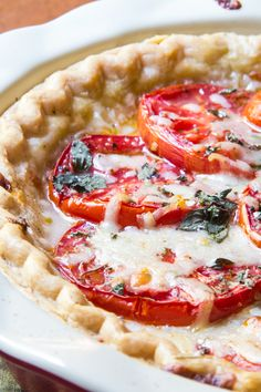 Tomato Pie | The Wimpy Vegetarian