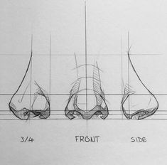 Art Sketchbook Inspiration Simple – Art World 20 Pencil Art Drawings, Art Drawings Sketches, Realistic Drawings, Art Sketches, Awesome Sketches, Amazing Drawings, Art Illustrations, Animal Drawings, Nose Drawing