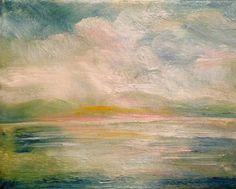 Storm,   Oil by Jacqueline Zuckerman