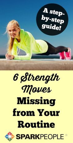 6 Must-Try Isometric Moves. Great challenge for abs. This is good workout fodder for life. Great training for runners and everyone else too! //WELLFITandFED