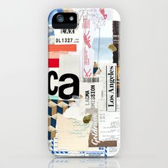 Los Angeles iPhone Case by Emily Rickard