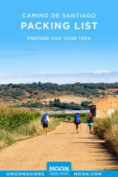 Be prepared for an epic trek along the Camino de Santiago in northern Spain with this packing list. Get recommendations for essential gear to bring along, with seasonal tips and suggested quantities. Travel Articles, Travel Info, Travel Tips, The Camino, Thru Hiking, Travel Packing, Packing Tips, Bucket List Destinations, Camino De Santiago