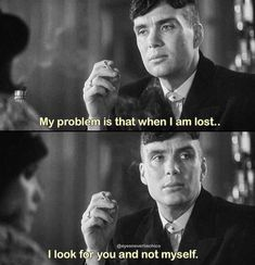Peaky Blinders 🚬🥃 Quotes by For Peaky Blinders Poster, Peaky Blinders Quotes, Peaky Blinders Thomas, Cillian Murphy Peaky Blinders, Quotes Deep Feelings, Mood Quotes, True Quotes, Quotes Quotes, Gangster Quotes