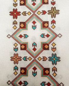 <img> Our cross-stitch work # # hand-embroidery # hand-embroidery # cross-stitch # canvas # canvas # rize Source by - Cross Stitch Borders, Cross Stitch Flowers, Cross Stitch Designs, Cross Stitch Patterns, Ribbon Embroidery, Cross Stitch Embroidery, Broderie Bargello, Organic Art, Bullet Journal Themes